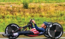Olympic Year Treats All Handcyclist
