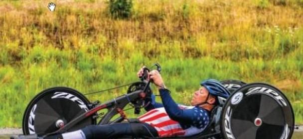 Olympic Year Treats All Handcyclist