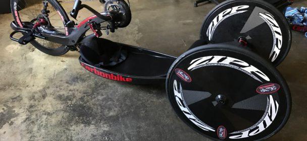 Carbonbike RevoX with 650c carbon fiber wheels