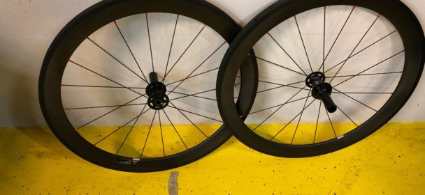 FOR SALE – USED 650C CARBON FIBER TUBULAR WHEELS