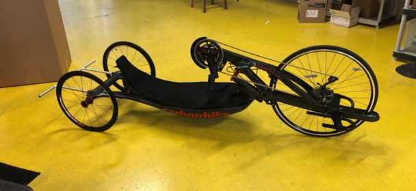 USED EVOX 20″ with 700c Fork